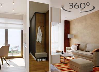 West Residence - One room apartments 360